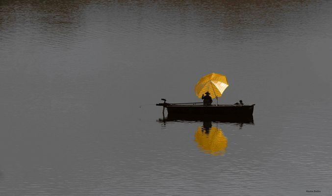 Sur le lac d'Aiguebelette