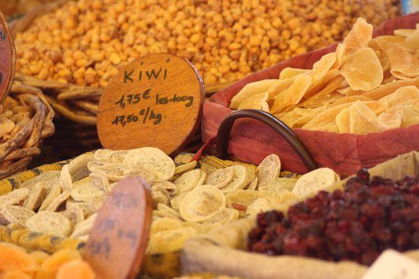 Sur le marché de l'Isle sur la Sorgue