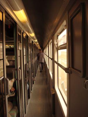 sur le rail