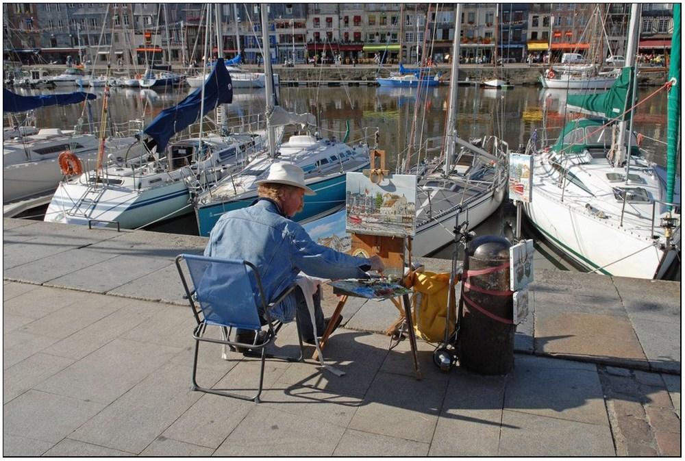 Sur le Vieux Bassin d'Honfleur (14)