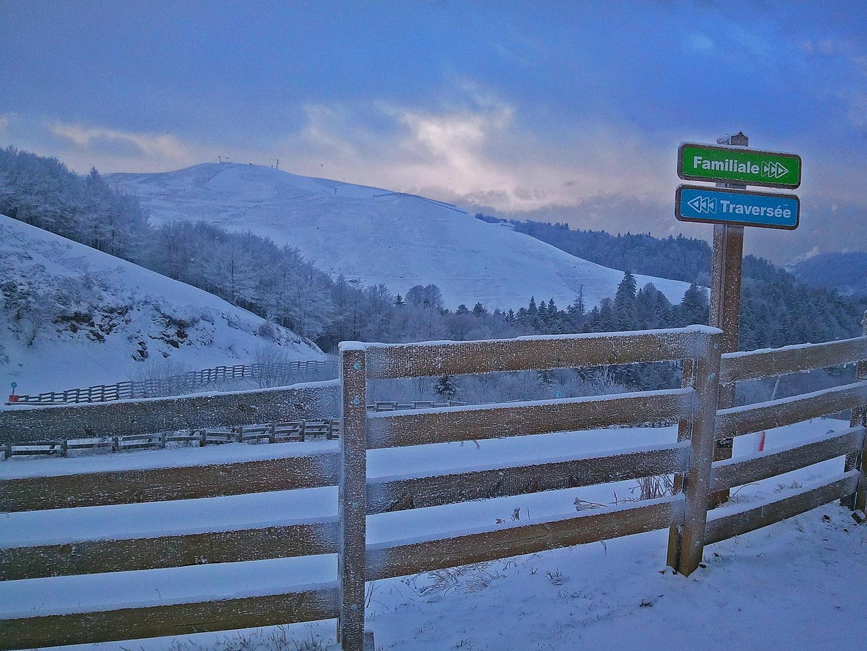 Sur les pistes de ski 01, Super Lioran