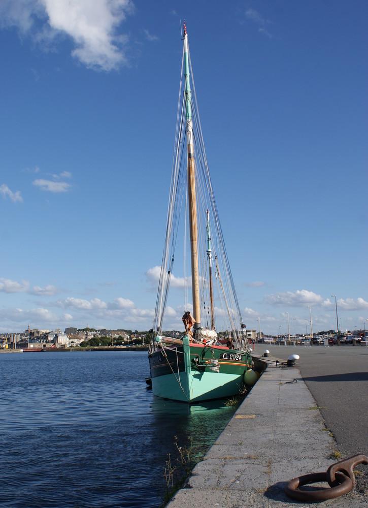 sur les quaies de St Malo