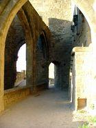 Sur les remparts de Carcassonne