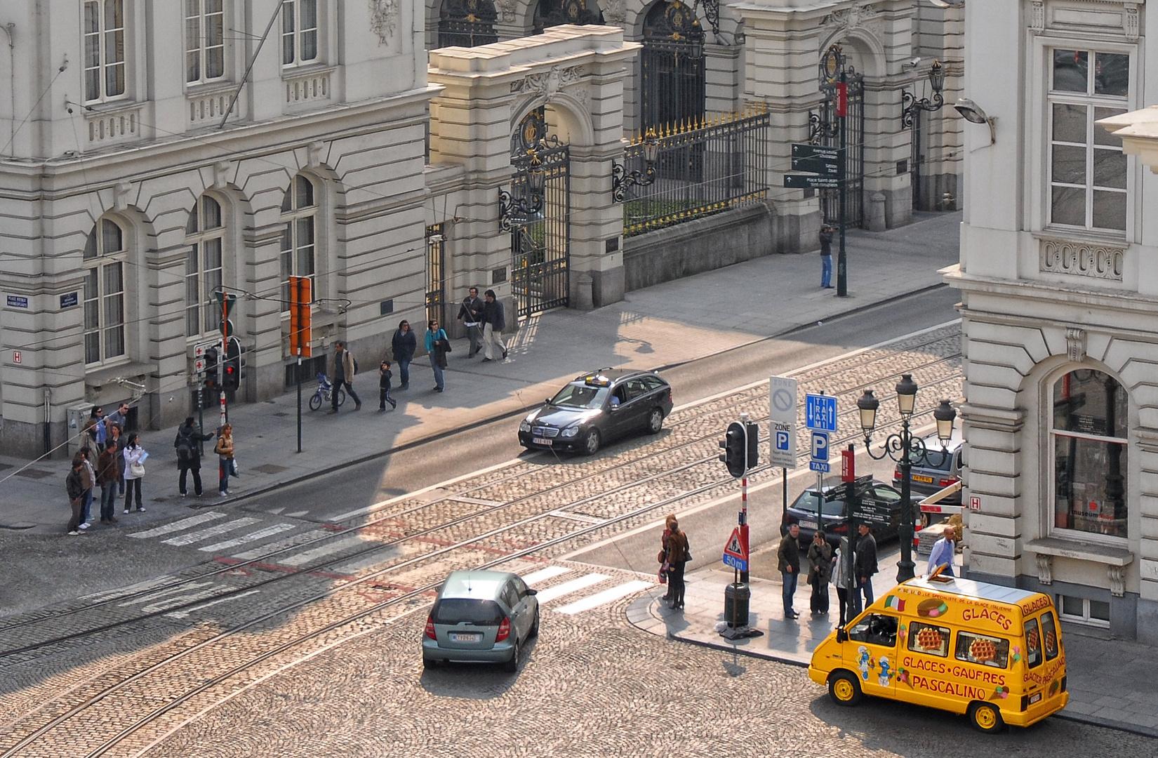 Sur les rues de Bruxelles