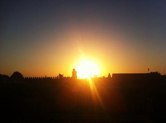 Sur une terrasse d'un Riad à Marrakech