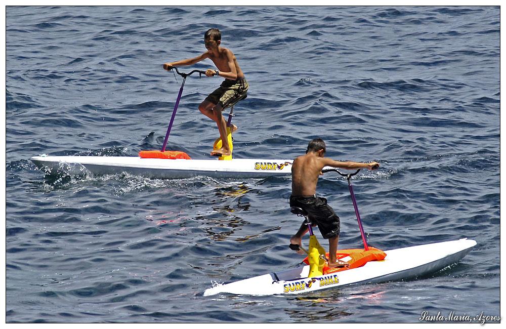 Surf-Bikes (Santa Maria, Azoren)