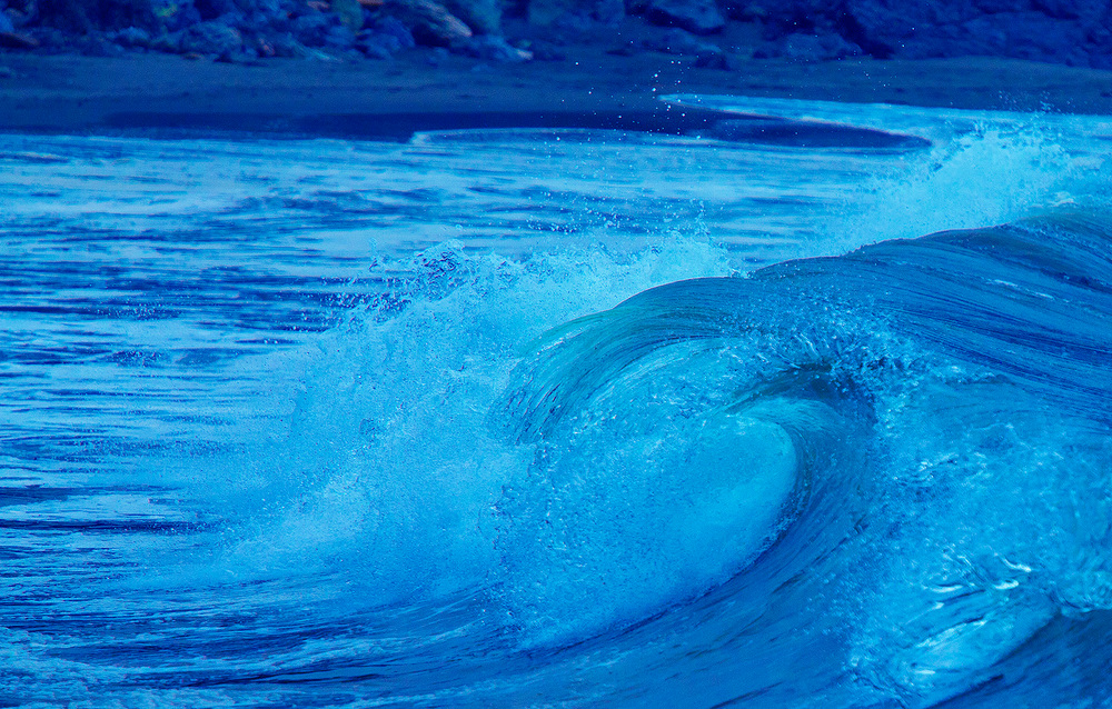 Surf in Nothern California