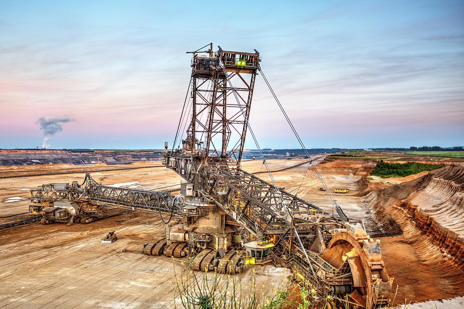 surface mining - Tagebau Garzweiler