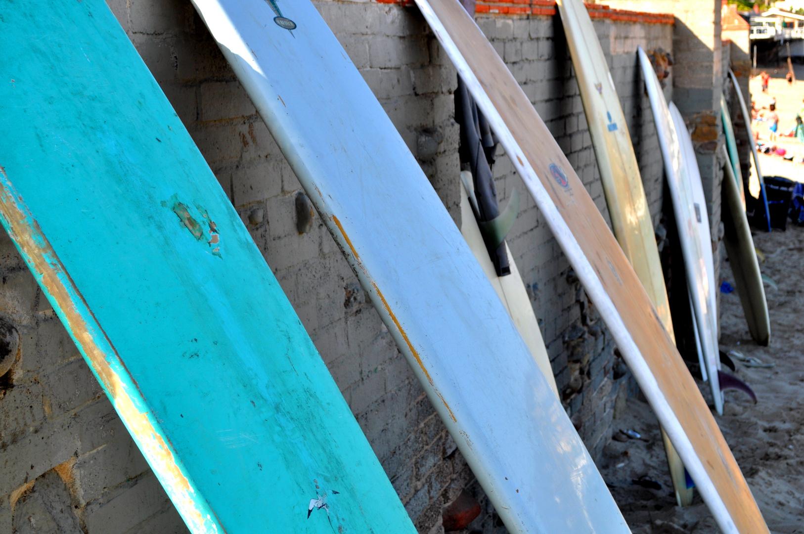 Surfboards...