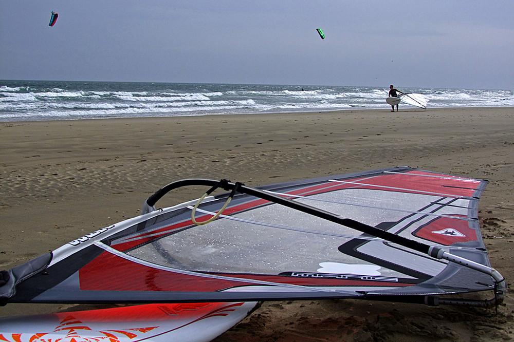 Surfbrett vor dem Einsatz...