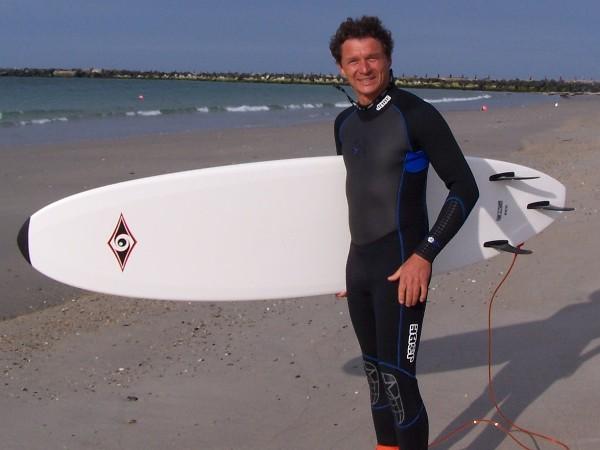 Surfen auf Helgoland