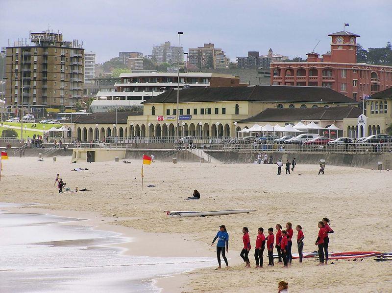 surfen lernen am bondi beach