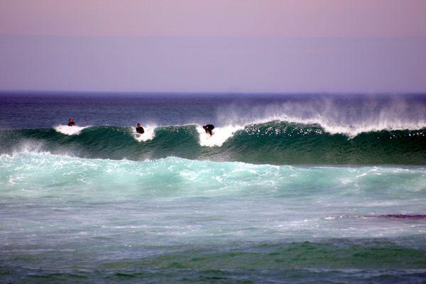 Surfer an der Great Ocean Road