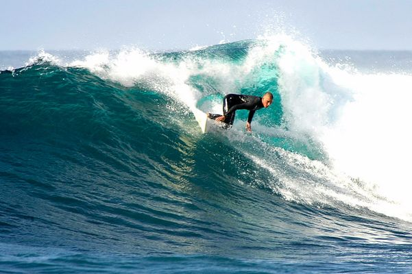 Surfer auf Lanzarote