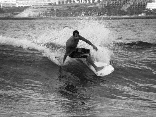Surfer auf Teneriffa