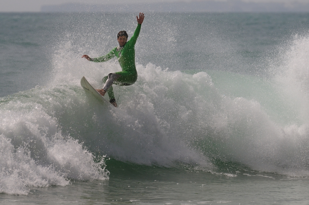 Surfer bei Sagres 1