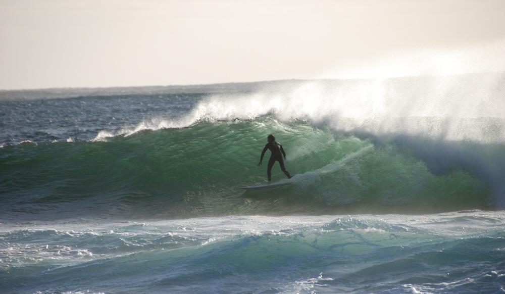 Surfer @ Cape Naturaliste, Western Australia