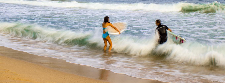 Surfer in Chia