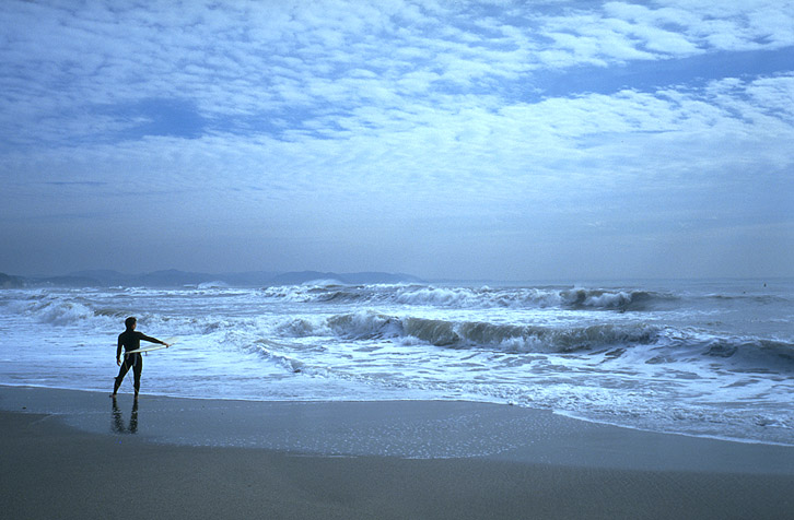 Surfer in Japan