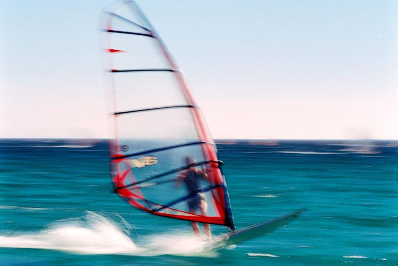 Surfer in Tarifa