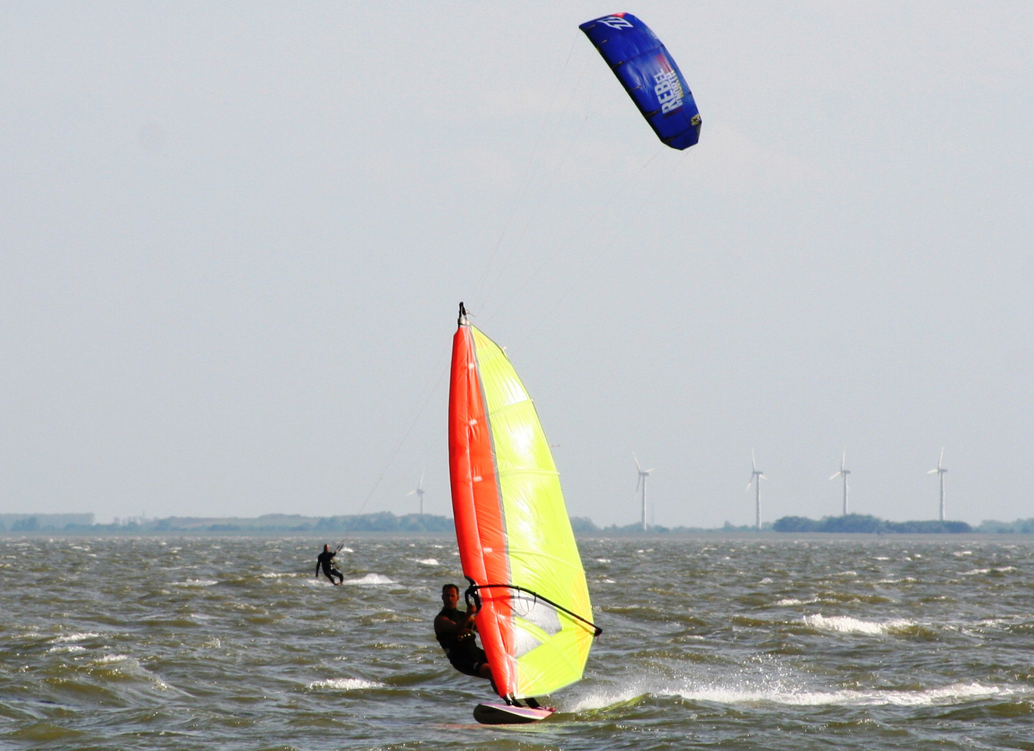Surfer in Wilhelmshaven