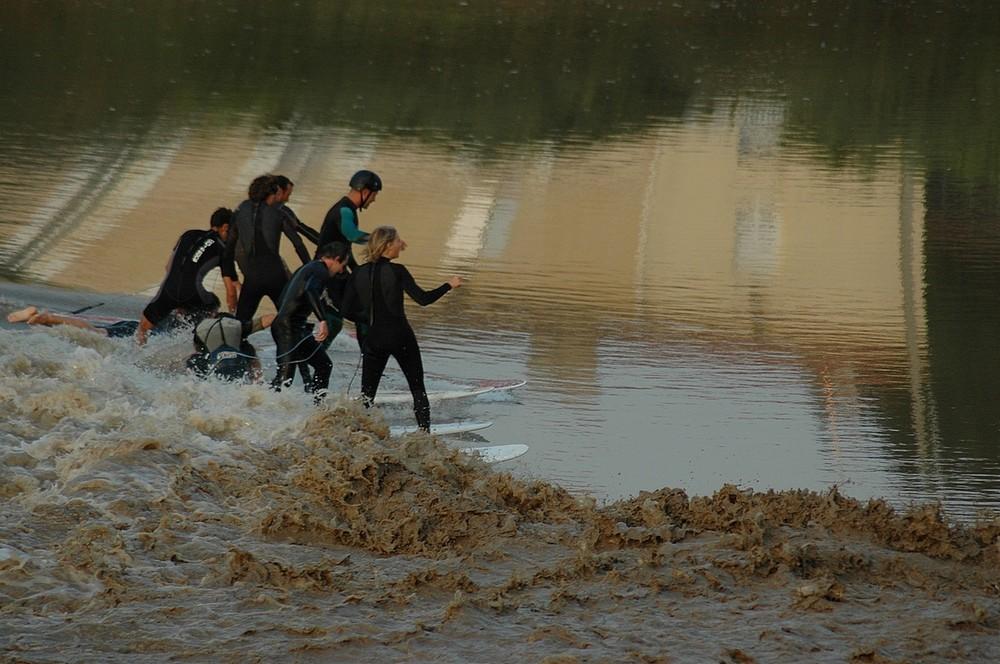 Surfer le Mascaret sur la Garonne