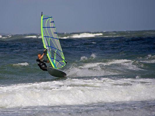 Surfer vor Amrum