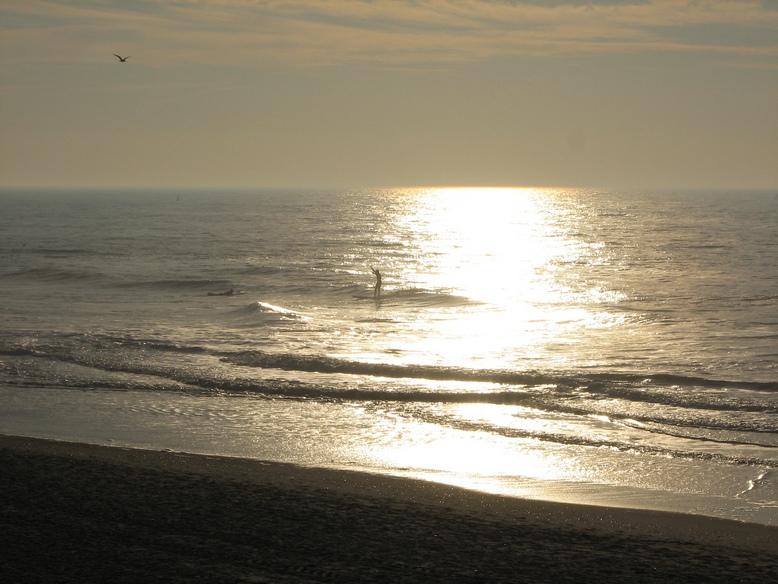 Surfer vor Sylt