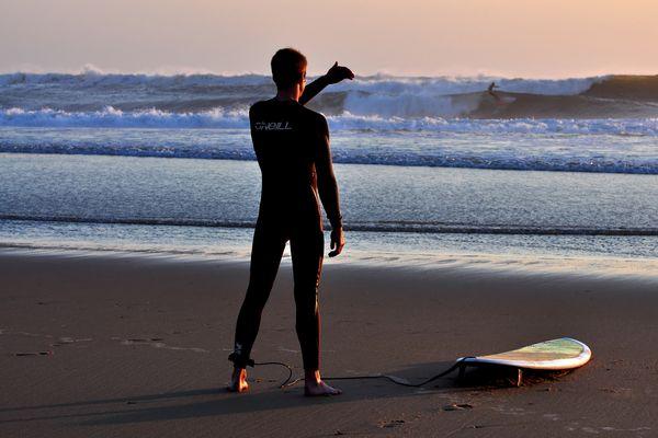 Surfers Abendtraum