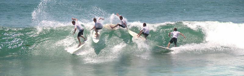 Surfing San Miguel