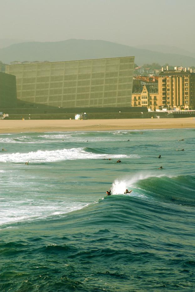 Surfing San Sebastian