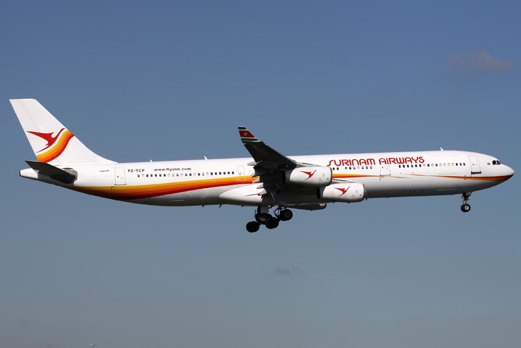 Surinam Airways Airbus A340-311