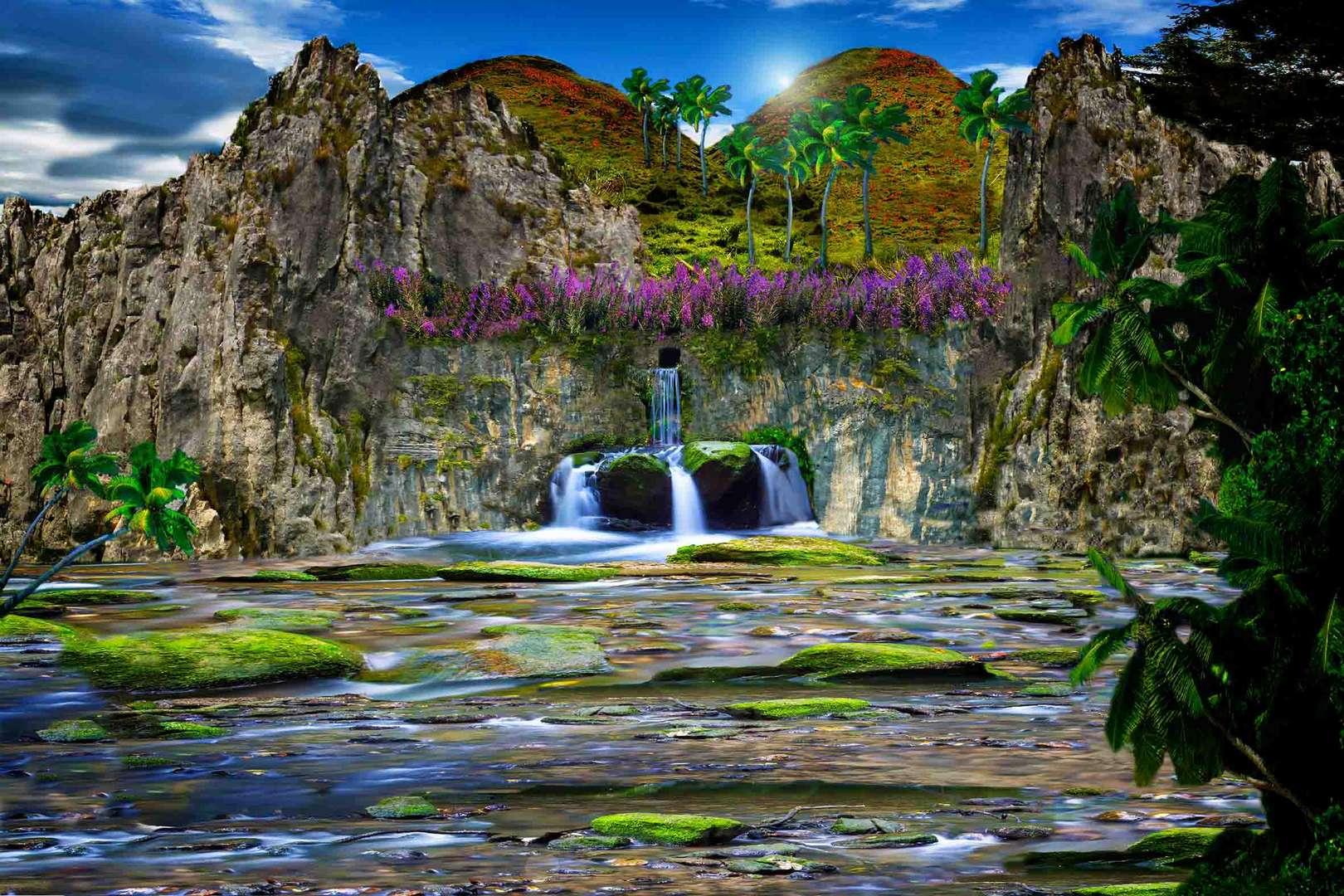 Surreale Landschaft 2