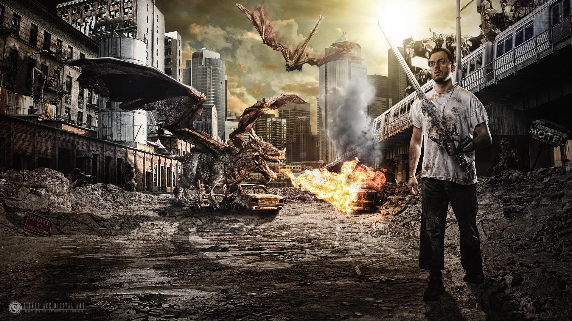 Survival (ZBrush und Photoshop)