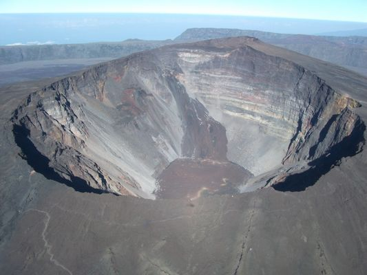 Survol du Volcan....