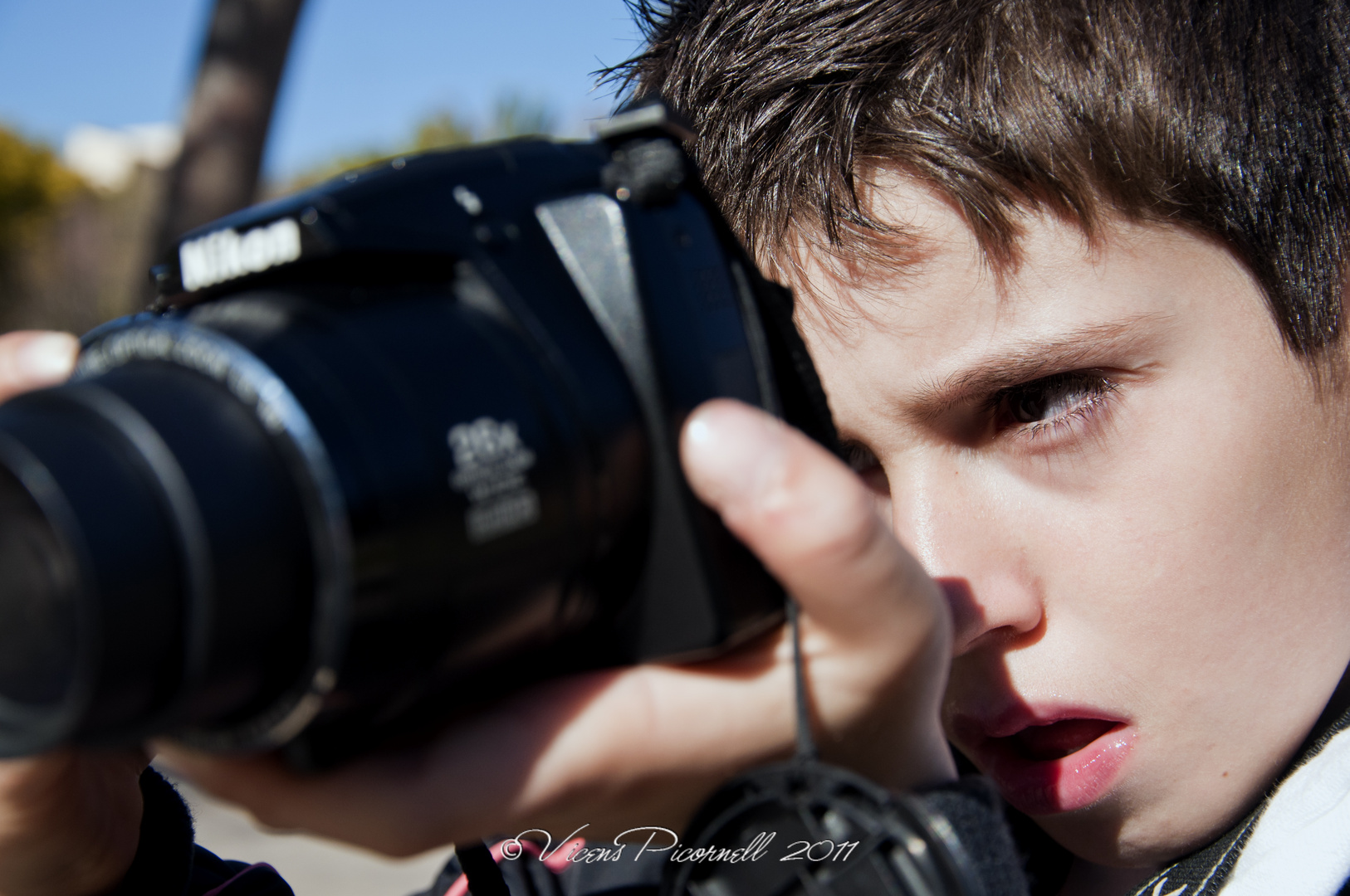 Sus primeros pasos en la fotografía