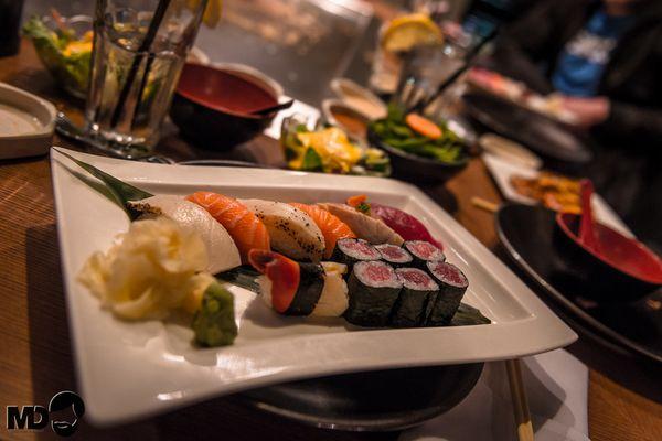 Sushi - frisch vom Meister