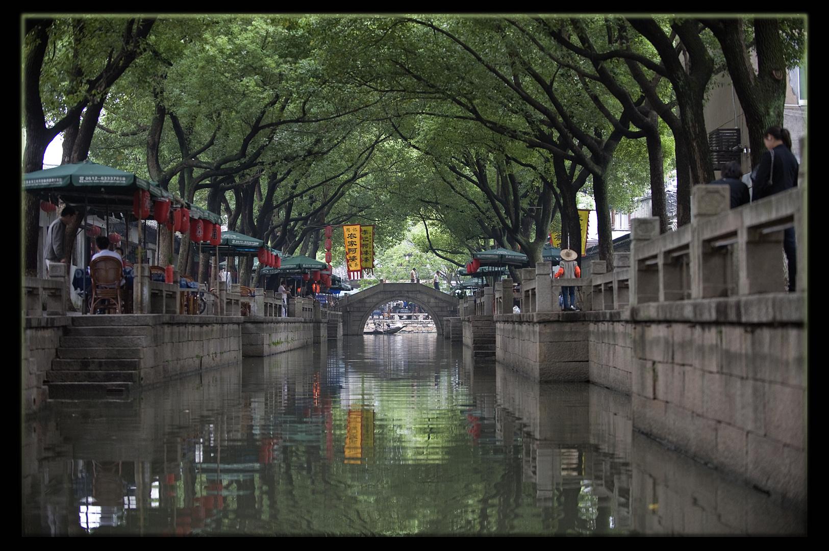 Suzhou, sur le Grand canal