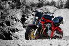 Suzuki Bandit Fighter im Steinbruch