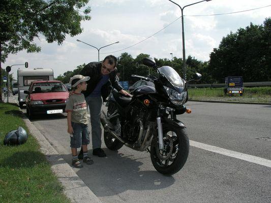 Suzuki Bandit Testing