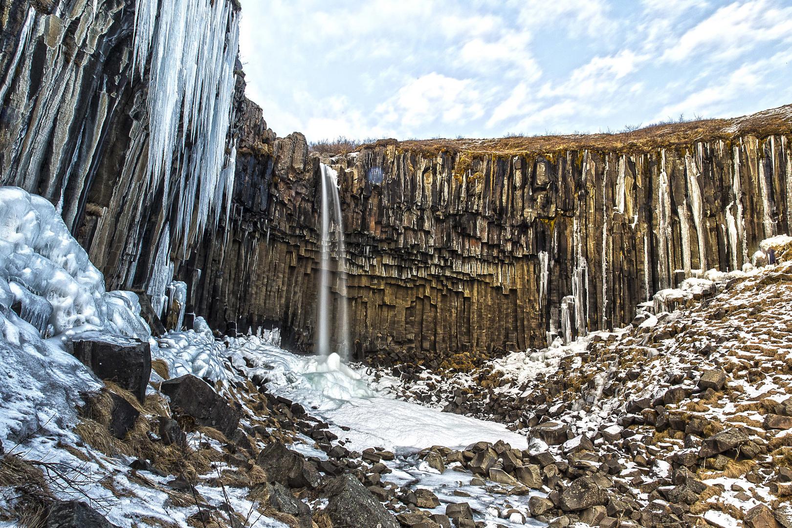 Svartifoss Island