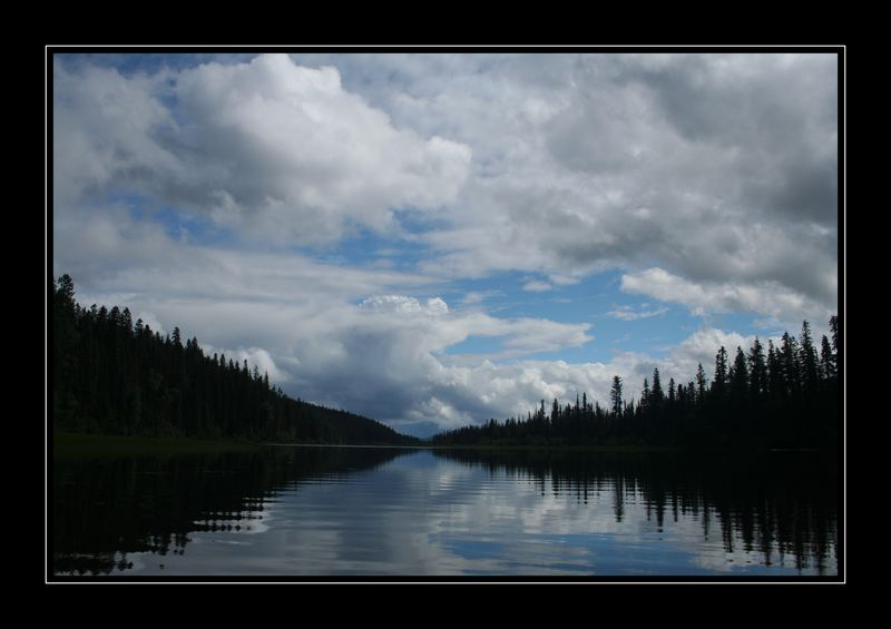 Swan Lake, Bowron Lake Provincial Park