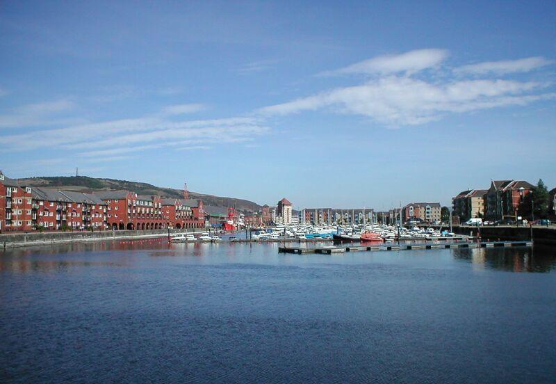 Swansea Hafen