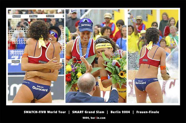 SWATCH-FIVB World Tour - Smart Grand Slam - Berlin 2004 - Volleyball - Frauen-Finale 26.06.2004