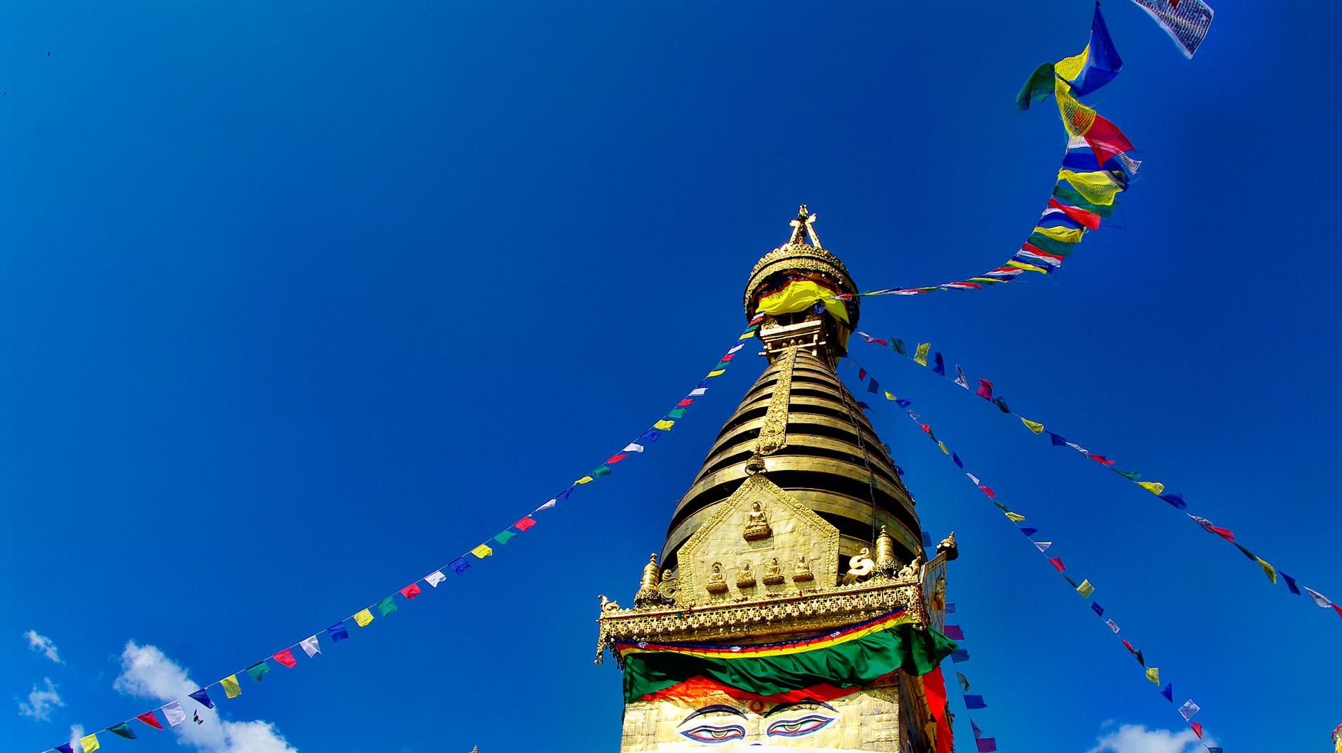 Swayambunath-Stupa