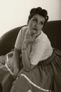 Sweet Audrey Retro-Pin Up Model