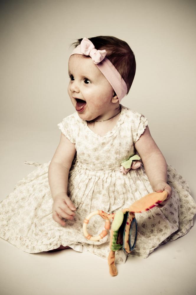 sweet little girl...