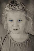 Sweet Little Miss Blue Eyes