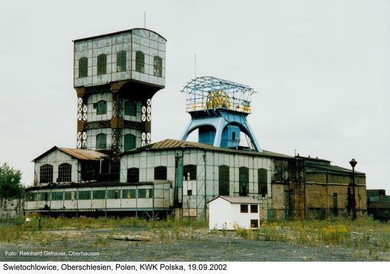 Swietochlowice, Oberschlesien, Polen, KWK Polska, 2002