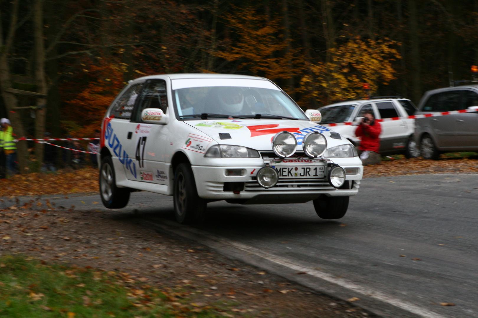 Swift GTI 16V Gr.H Jan Rößner / Stefan Kupsch Rallye Race Gollert 2009
